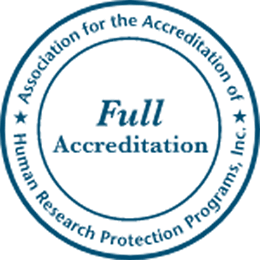 Full Accreditation - Association for the Accreditation of Human Research Protection